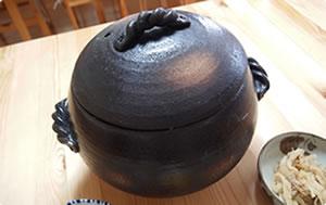 土鍋炊きご飯